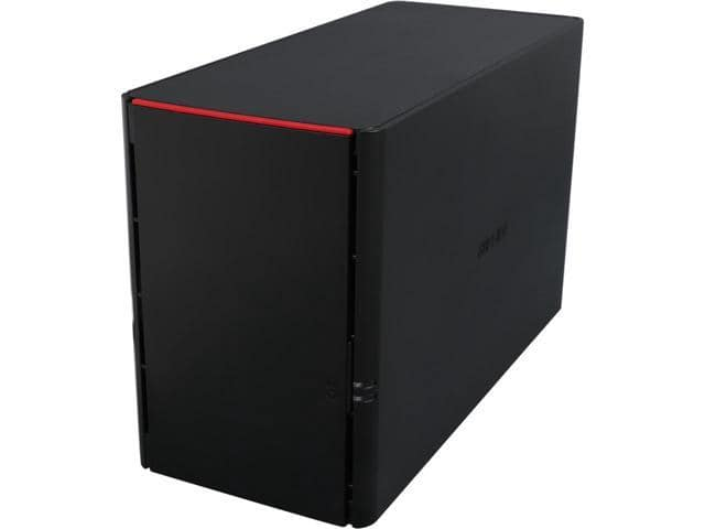 BUFFALO LS220D0202 2TB (2 x 1TB) LinkStation 220 RAID NAS $159AC