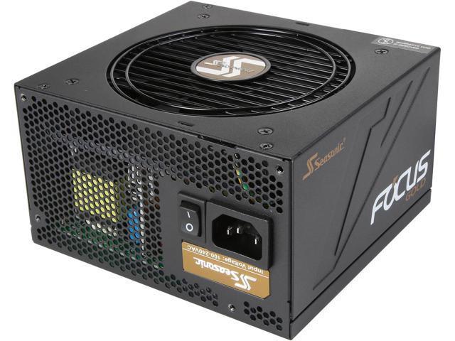 750W Seasonic Focus Plus Series 80+ Gold Power Supply $75AR @Newegg