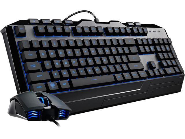 Cooler Master Devastator 3 RGB (7 color option) LED Gaming Membrane Keyboard and Mouse $20AR@Newegg