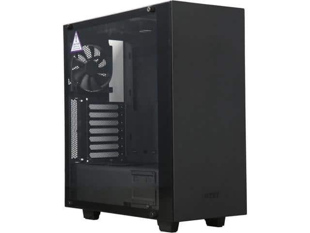 NZXT S340 Elite ATX Matte Black Tempered Glass Mid Tower Computer Case $75AR @Newegg