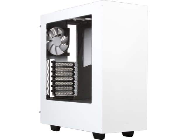 NZXT S340 Glossy White Mid Tower Case $55AR @Newegg