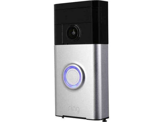 Ring Wi-Fi Enabled Video Doorbell in Satin Nickel $120AC