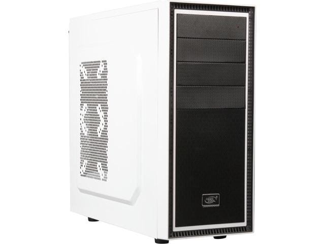 DeepCool Tesseract WH White Mid Tower Case $20AR @Newegg