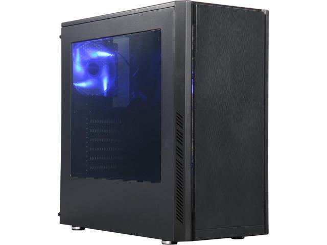 DIYPC DIY-BG01 Black USB 3.0 ATX Mid Tower Gaming  Case $20AR