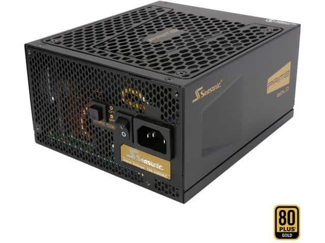650W Seasonic Flagship Prime Series SSR-650GD 80+ Gold Modular Power Supply $85AR