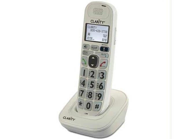 Clarity 52702.000 Expandable Handset For D702, D712 & D722 Amplified Cordless Phones $30AC@Newegg
