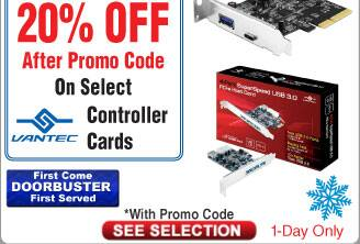 Vantec M.2 NVMe SSD PCIe x4 Adapter UGT-M2PC100 $12AC@Frys Vantec M.2 NVMe + SATA2 Adapter $14AC