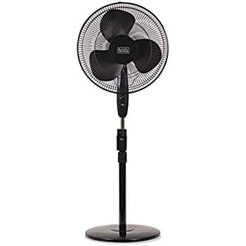 Lasko 2521 Oscillating Stand Fan, 16-Inch, Black $17AC (Prime) @Amazon