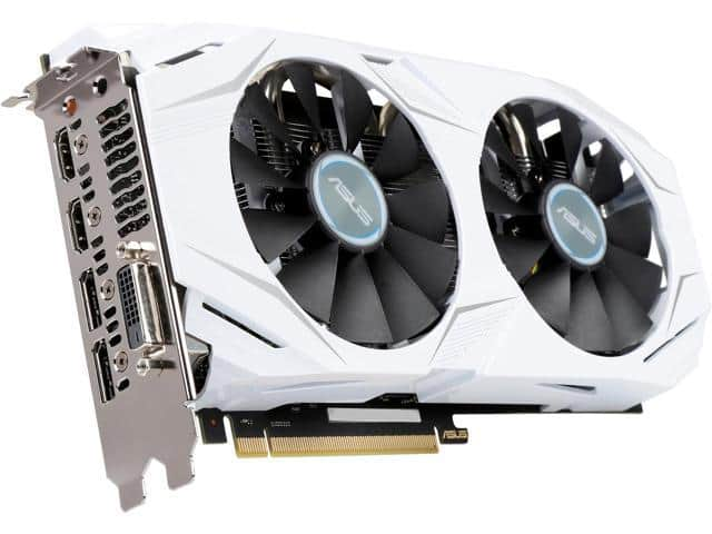 ASUS Dual series GeForce GTX 1060 DUAL-GTX1060-O3G 3GB Video Card $188AR @Newegg