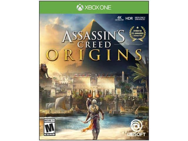 Assassin's Creed Origins - Xbox One (+ Mass Effect Andromeda) $39AC @Newegg
