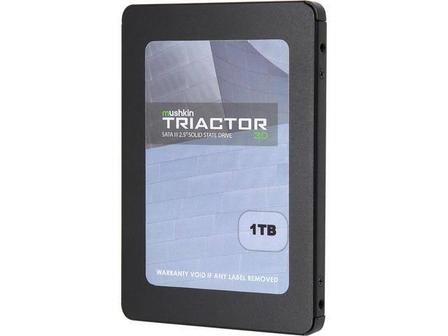 "1TB Mushkin Enhanced TRIACTOR 3DL 3D 2.5"" SSD $230 @newegg  480GB/$130"