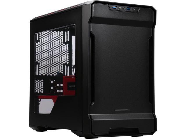 Phanteks Enthoo Evolv ITX Series PH-ES215P_SRD Black / Red Mini-ITX Case $50AR@Newegg
