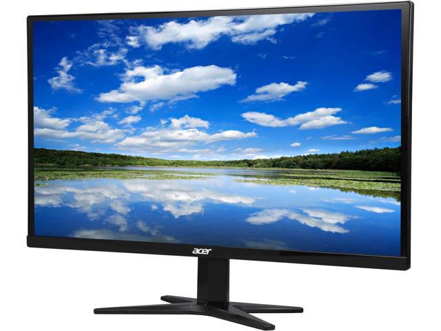 "Acer G7 Series G277HL bid Black 27"" IPS Black Widescreen FHD LED Monitor $140AC"