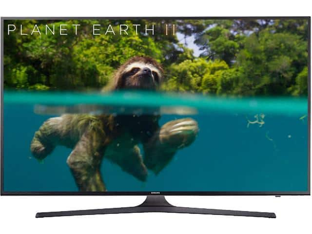 Samsung Electronics UN50MU6300 50-Inch 4K Ultra HD Smart LED TV $400 AC @Newegg