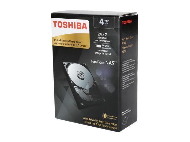 Toshiba N300 4TB High Reliability NAS Hard Drive $100AC@Newegg