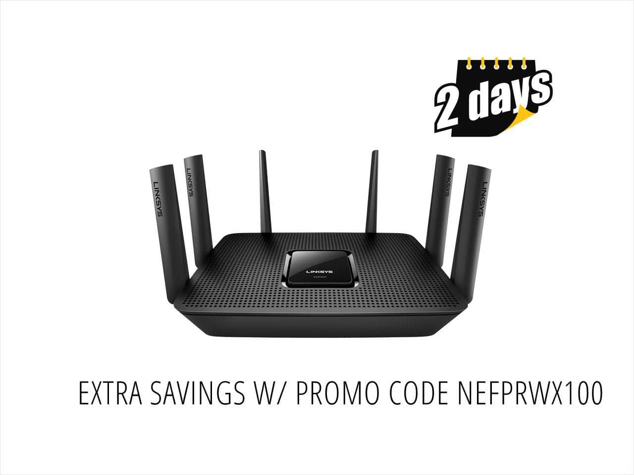 Linksys Max-Stream AC4000 MU-MIMO Wi-Fi Tri-Band Router $200AC @NF
