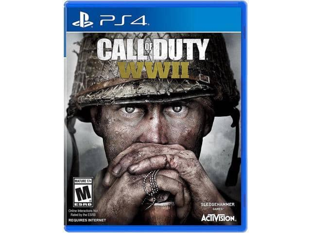 Call of Duty: WWII (PS4 or PC) / AC Origins / The Elder Scrolls V: Skyrim VR - PlayStation 4 $36AC@Newegg