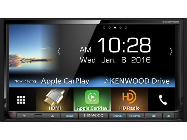"Kenwood DNX773S 7"" Navigation Receiver w/ Apple CarPlay (+$315GC) $700@Newegg"