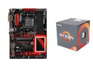AMD RYZEN 5 1400 CPU and ASRock  Fatal1ty AB350 Gaming K4 AM4 AMD Promontory Motherboard $207AR@Newegg