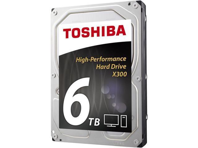 TOSHIBA X300 6TB Desktop Hard Drive 7200 RPM $165AC@Newegg