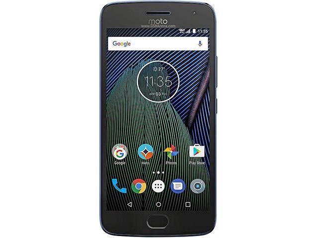 Moto G5 Plus XT1687 64GB Smartphone (Unlocked, Lunar Gray) $225AC@Newegg