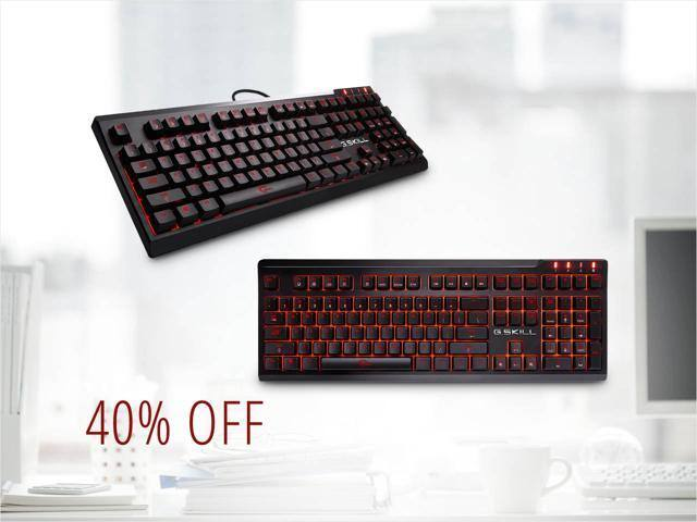 G.SKILL RIPJAWS KM570 MX Mechanical Keyboard Cherry MX Blue or Red $60@NF