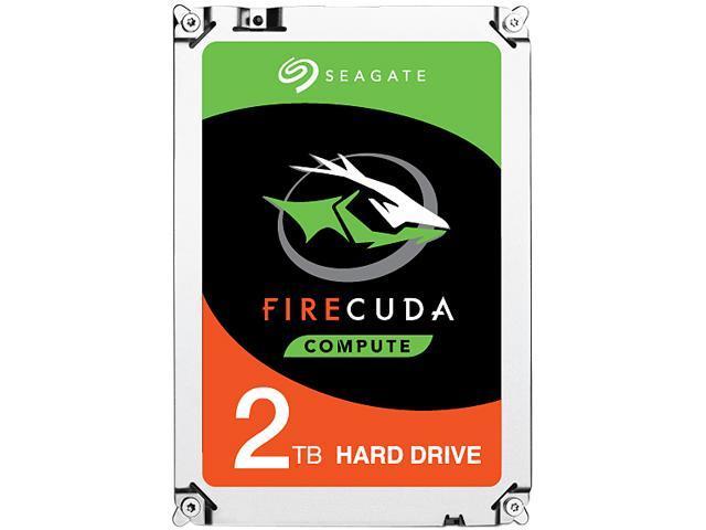 """2TB Seagate FireCuda Gaming SSHD 2.5"""" Hybrid Hard Drive $85AC"""