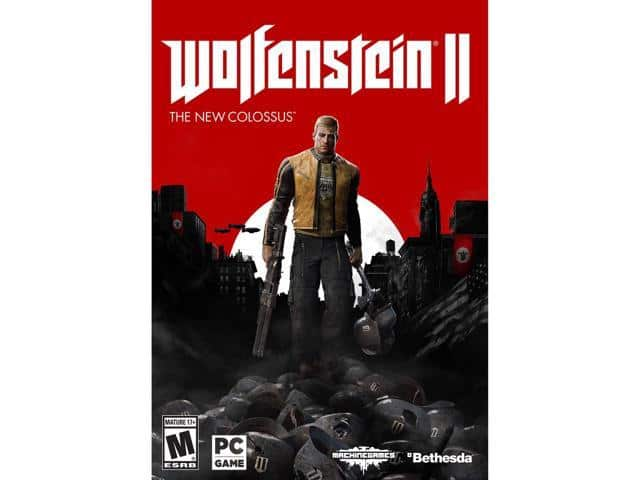 Wolfenstein II: The New Colossus (+ Two-Pack Bundle) PC/XB1 $39AC@Newegg
