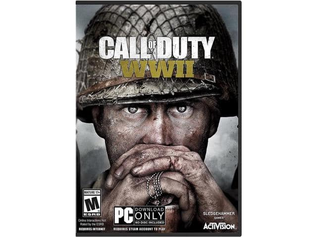 Call of Duty: WWII - PC ( (Physical Key Code - No Disc) $35AC@Newegg