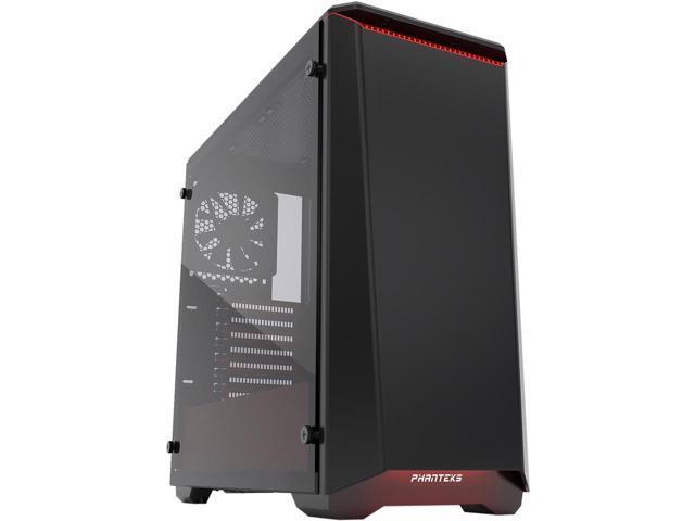 Phanteks Eclipse P400 PH-EC416PTG_BR Black/Red Tempered Glass/Steel Mid Tower Case $60AR @Newegg
