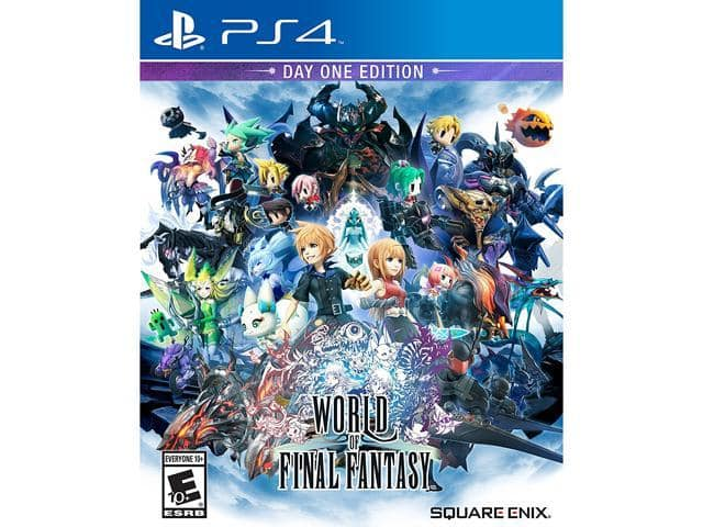 World of Final Fantasy PS4 $15AC@Newegg