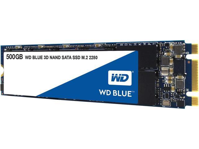 500GB WD Blue 3D NAND m.2 SATA SSD $140 (130AC) @Newegg