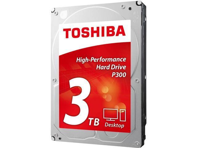 "3TB Toshiba P300 3.5"" 7200RPM Internal HDD Retail Kit $70AC @Newegg"