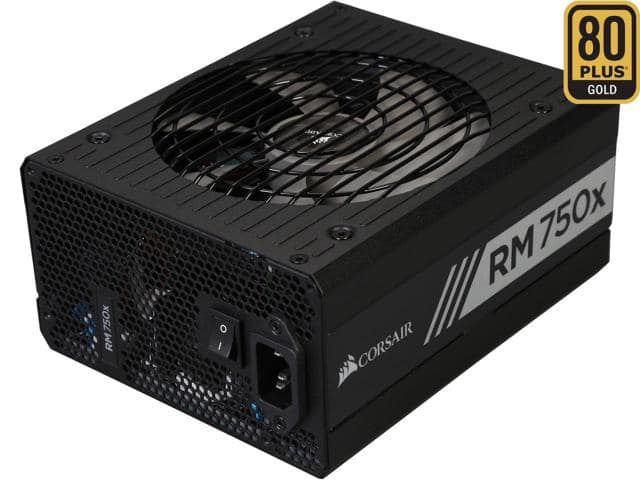 750W Corsair RMx RM750X 80Plus Gold Modular Power Supply $80AR/AC @Newegg  450W CX $18AR; CX-M $25AR/AC