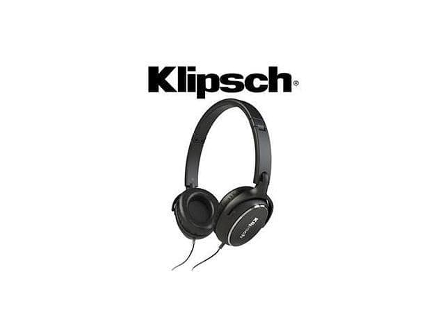Klipsch Reference R6 On-Ear Headphones (Black) $23 AC