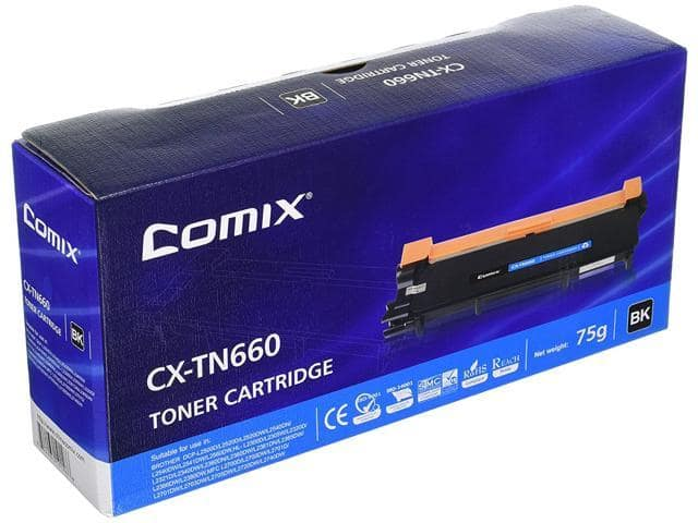 COMIX Brother TN660 Equivalent Toner $7@NF