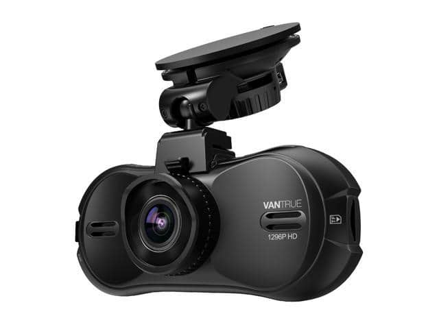 Vantrue R3 Super HD 1296P 4-Lane Wide-Angle View Car Dash Cam $90@Newegg