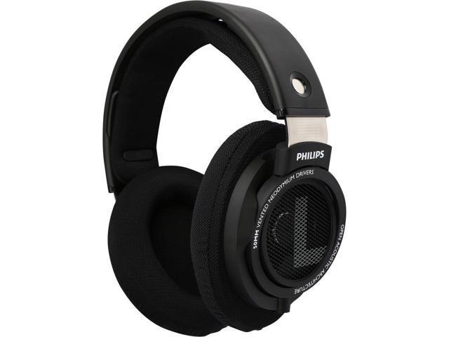 Philips SHP9500S Over-Ear Headphones (Black) $50@Newegg