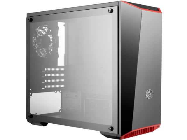 Cooler Master MasterBox Lite 3.1 mATX Case with Tempered Glass $30AR@Newegg