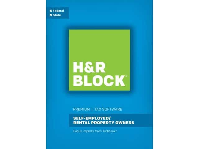 H&R BLOCK Tax Software Premium 2017 Windows - Download $60AC  H&R BLOCK Tax Software Premium & Business 2017  $35AC