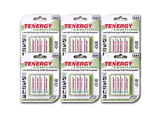 24-Pack Tenergy Centura AAA LSD NiMH Rechargeable Batteries $20@NF AA 24/$26
