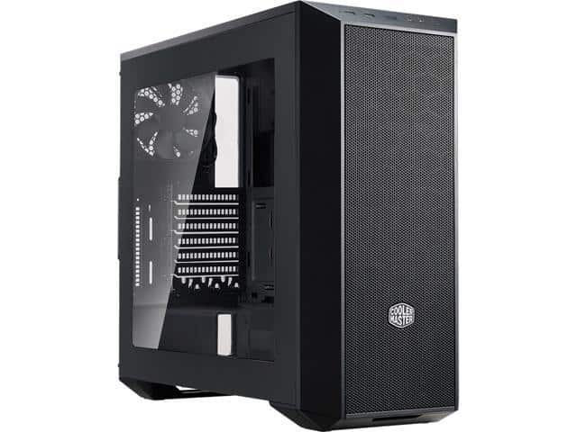 Cooler Master MasterBox 5 Black EATX Mid-tower Case $42AR@Newegg