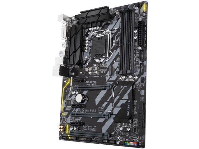 GIGABYTE Z370 HD3 (rev 1) LGA1151 motherboard $90AR @Newegg