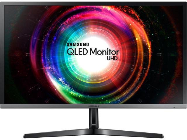 "32"" SAMSUNG LU32H750UMNXZA UH750 QLED UHD Monitor $450AC@Newegg"