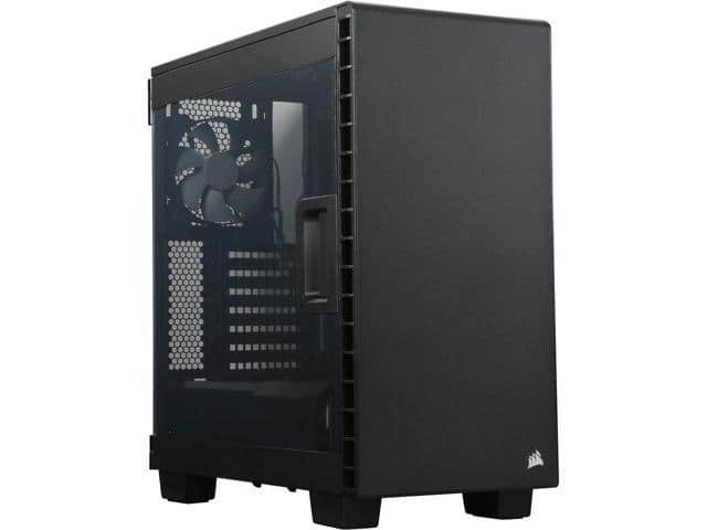Corsair Carbide Clear 400C Black Steel ATX Mid Tower Computer Case $56.49AR@Newegg