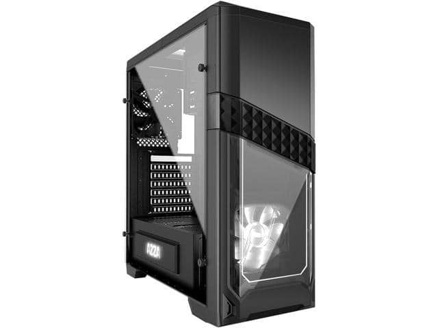 AZZA Titan CSAZ-240 Black SECC Tempered Glass/Steel Mid Tower Case $30AR @Newegg