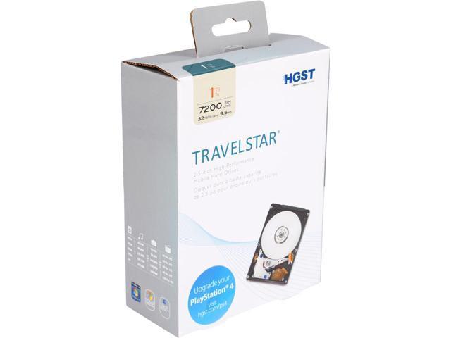 """1TB HGST Travelstar H2IK10003272SN (0S03563) 7200RPM 2.5"""" Hard Drive (Open Box) $33AC @Newegg"""