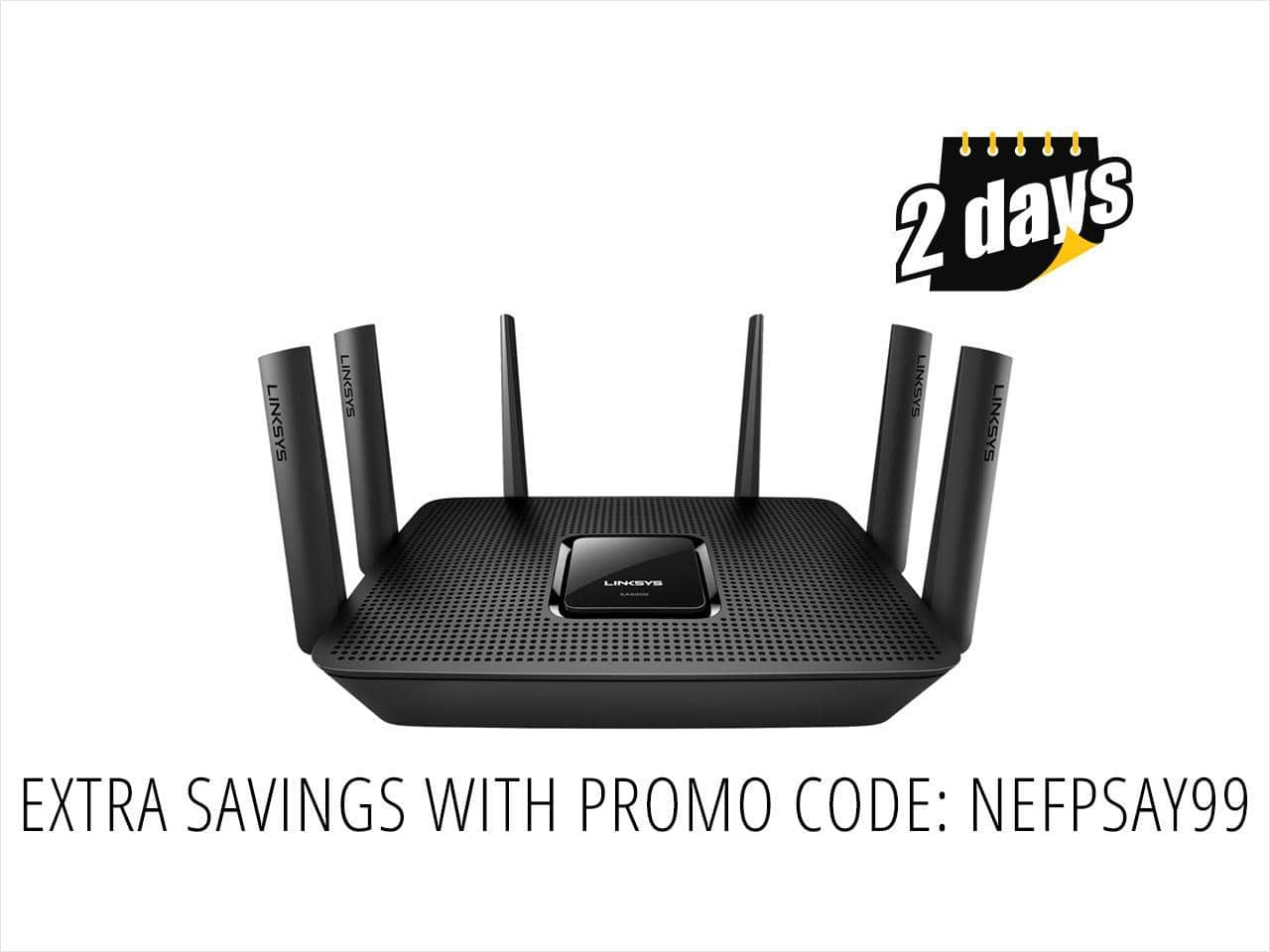 Linksys EA9300 AC4000 MU-MIMO Router $200 AC@NF