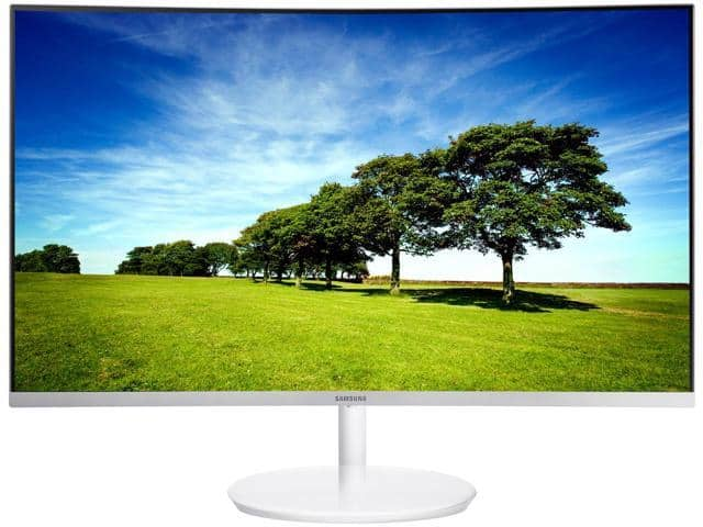 "27"" Samsung C27H711 WQHD 2K 2560 x 1440 FreeSync White Quantum Dot Curved Gaming Monitor $312AC @Newegg C32H711 32"" $376AC"