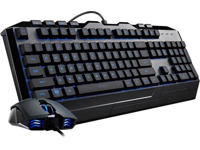 Cooler Master Devastator 3 RGB (7 color option) LED Gaming Membrane Keyboard and Mouse $15AR@Newegg